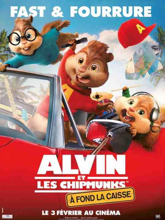 Alvin et Les Chipmunks : À fond la Caisse réalisé par Walt Becker