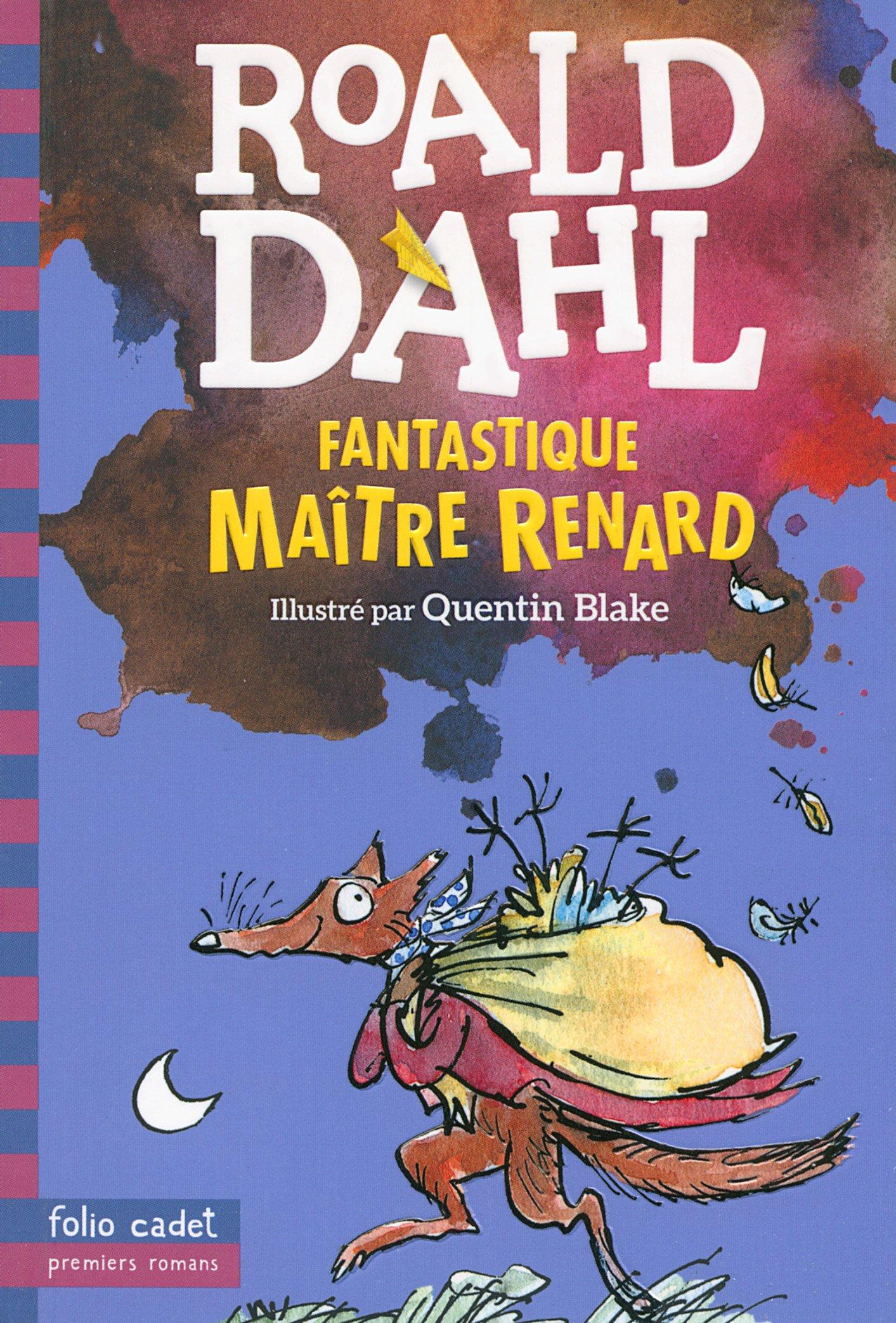 Fantastique Maître Renard écrit par Roald Dahl