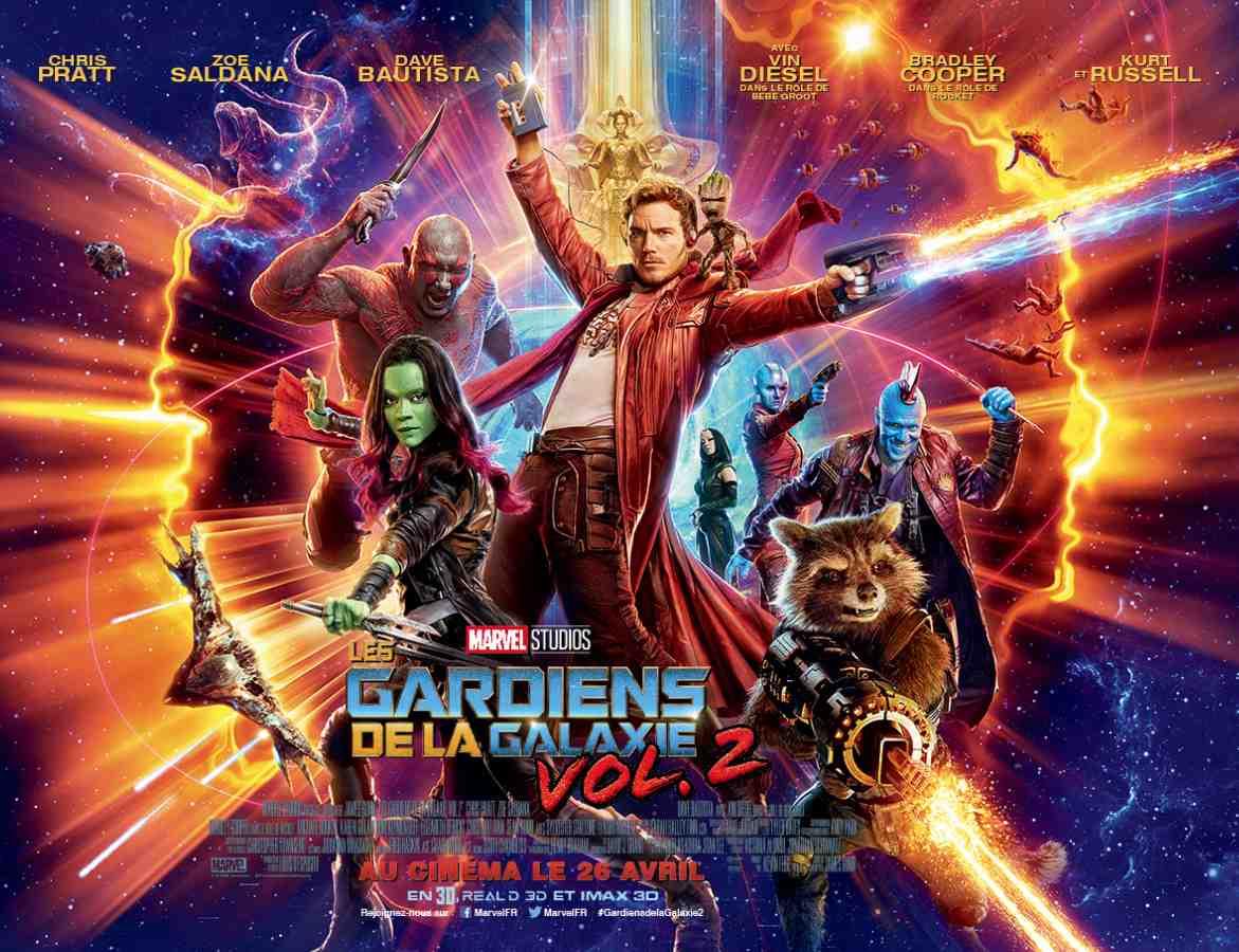 Les Gardiens de la Galaxie – Volume 2 écrit et réalisé par James Gunn