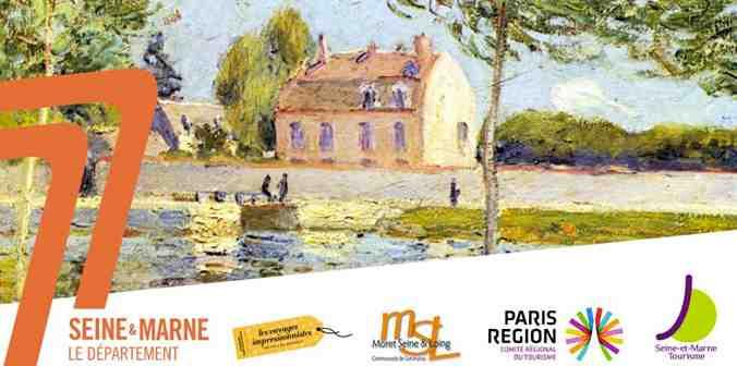 Seine-et-Marne propose un itinéraire autour des voyages impressionnistes