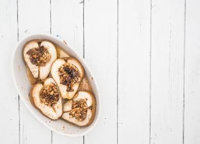 La confiture de poires épicées