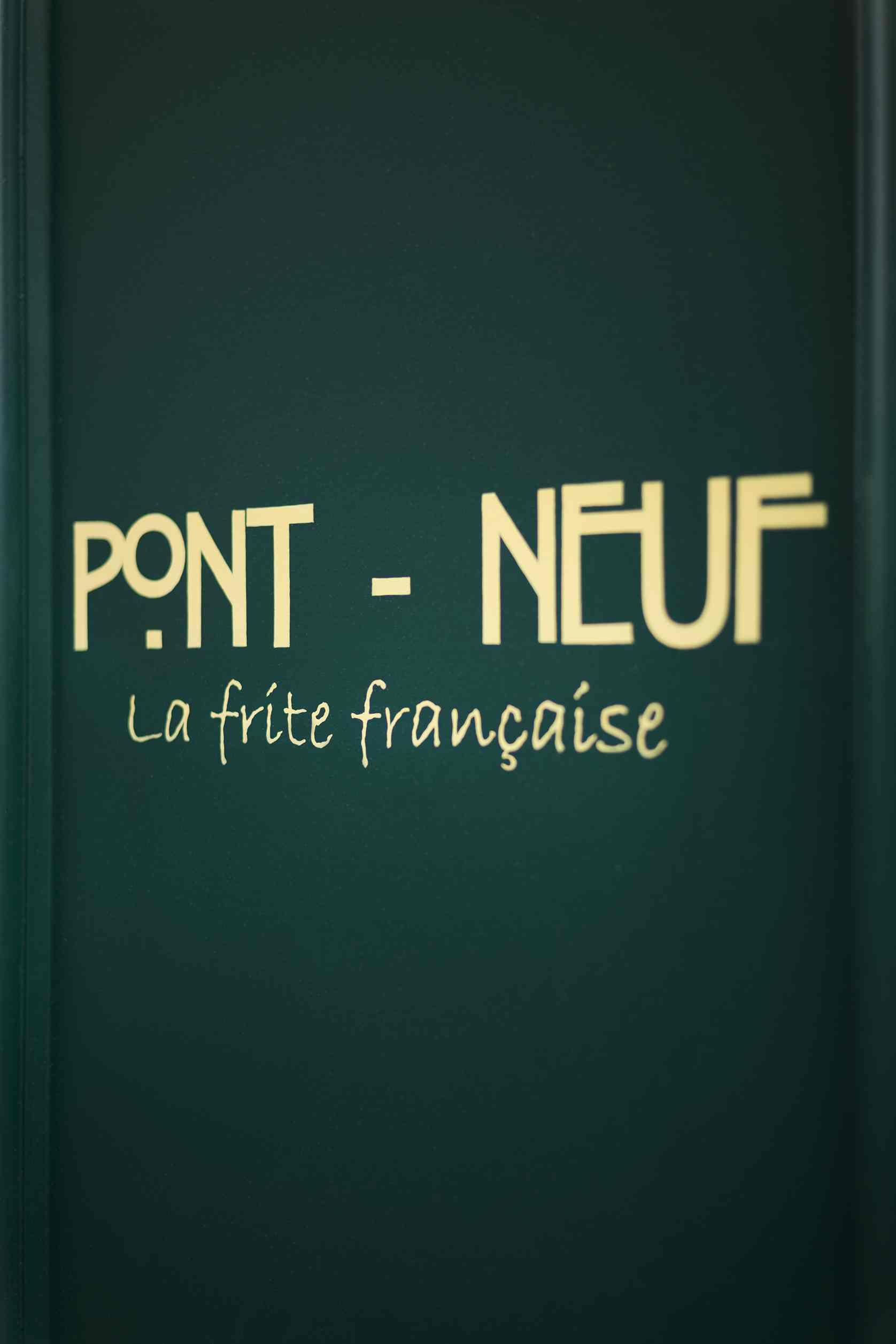 Pont-Neuf, la friterie haut de gamme aux prix accessibles, à Paris