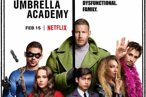 The Umbrella Academy (Saison 1) sur Netflix