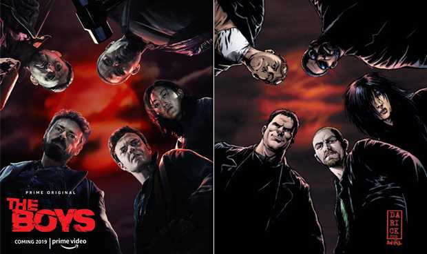 The Boys (Saison 1) : Les héros déjantés débarquent sur Amazon Prime Video