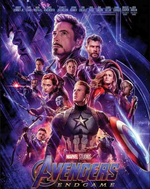 Avengers : Endgame réalisé par les Frères Russo