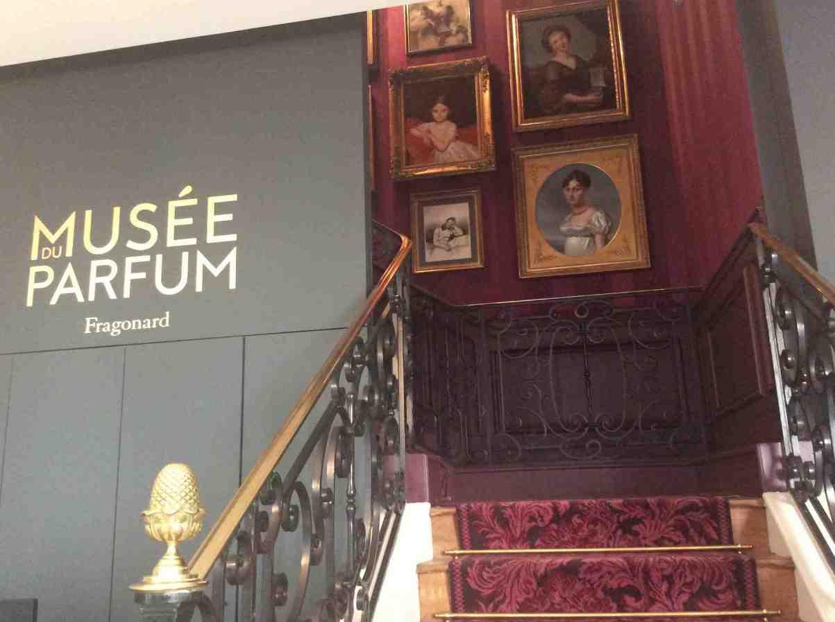 La métamorphose du musée historique du parfum Fragonard à Paris