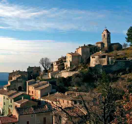 Le village de Banon dans les Alpes de Haute Provence (04)