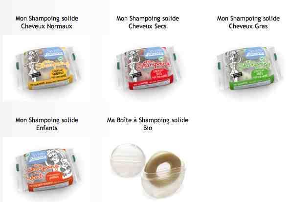 Les Shampoings Solides Certifiés Bio Secrets de Provence