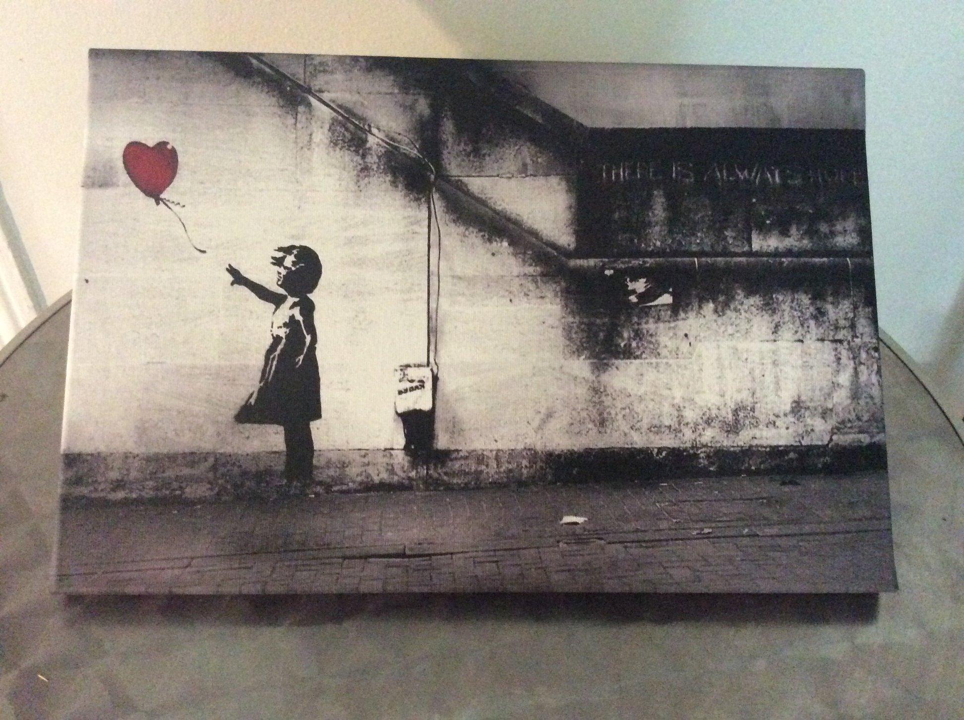 Laissez l'univers de Banksy envahir votre salon !
