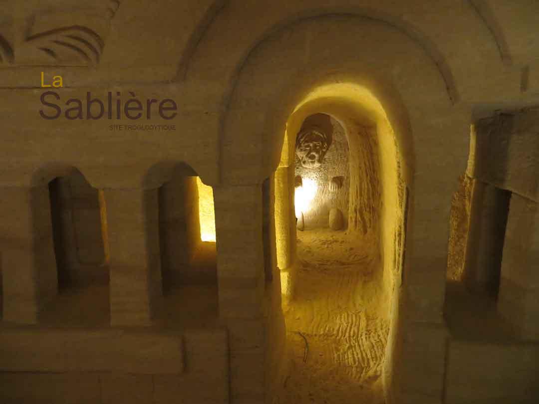 Les troglos de la Sablière à Doué La Fontaine (49)