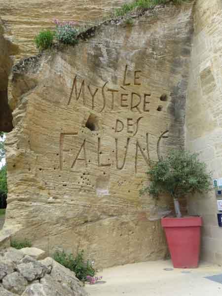 Le mystère des Faluns à Doué La Fontaine