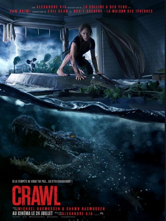 Crawl réalisé par Alexandre Aja
