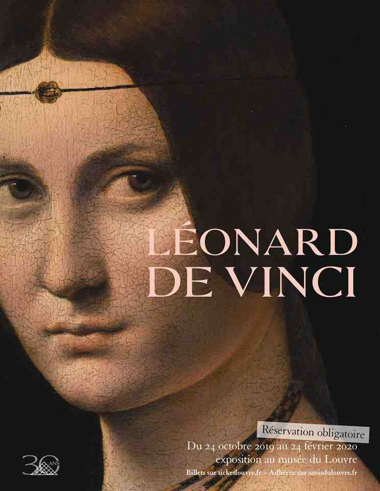 Léonard de Vinci, une exposition d'envergure internationale sur l'un des artistes les plus connus au monde au Musée du Louvre à Paris