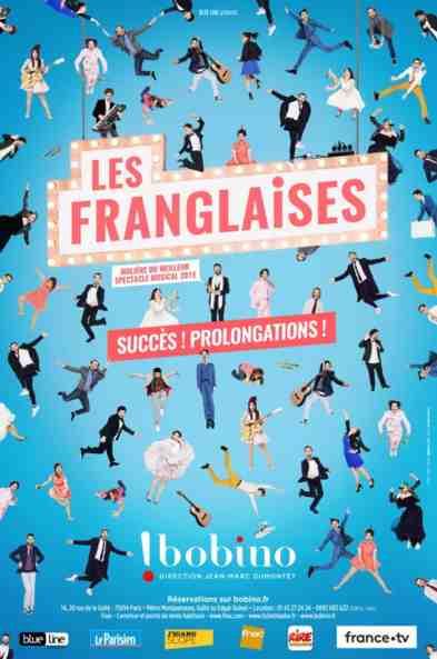 Les Franglaises à Bobino (Paris)