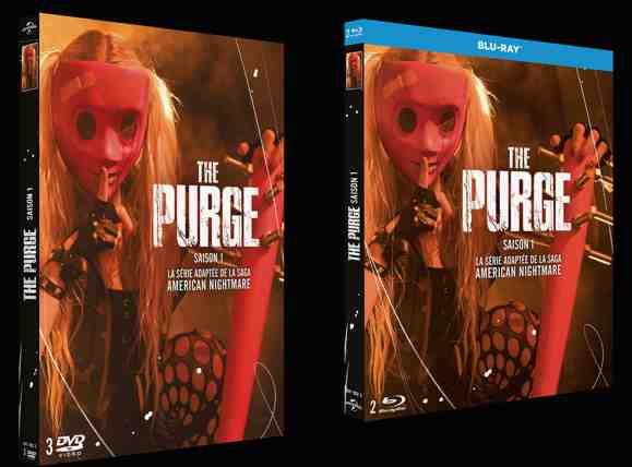 The Purge – Saison 1 en DVD et BR