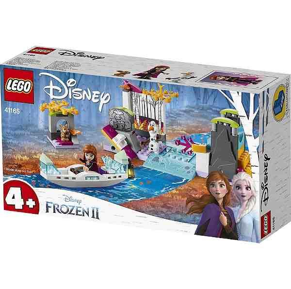 L'expédition en canöe d'Anna par Lego