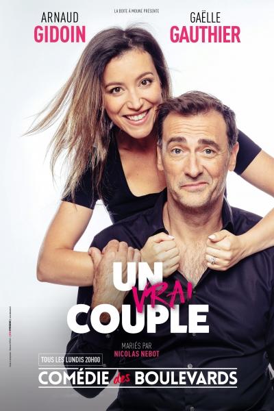 Un vrai couple à la Comédie des Boulevards (Paris)