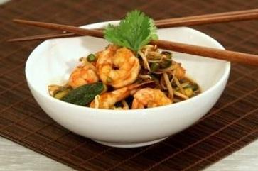 Crevettes à l'Asiatique