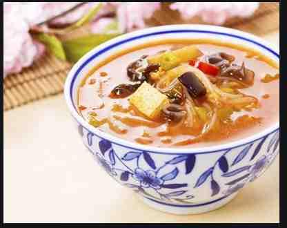 Soupe Chinoise aux champignons noirs
