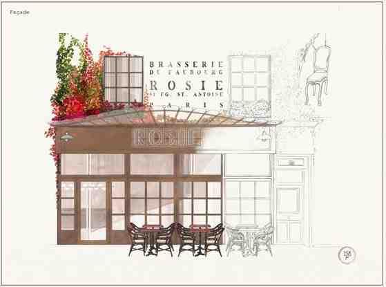 La Brasserie Parisienne Rosie