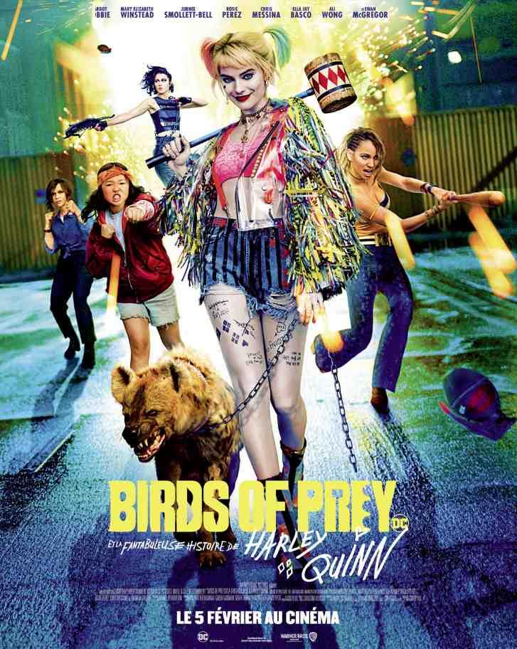Birds of Prey (Et la Fantabuleuse Histoire de Harley Quinn) réalisé par Cathy Yan