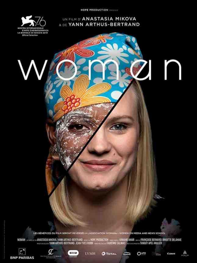 Woman réalisé par Yann Arthus Bertrand et Anastasia Mikova
