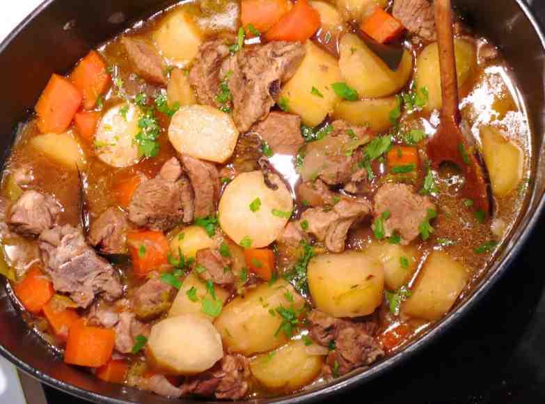 L'Irish Stew, le ragoût Irlandais