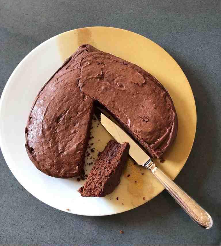 La gâteau au chocolat du Chef Guy Martin