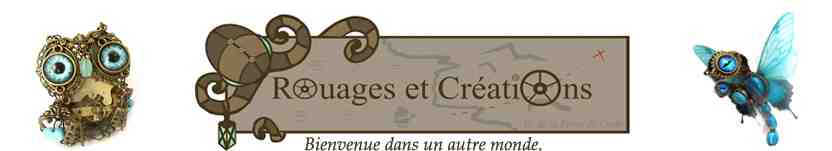 5e jeu du concours estival 2020 – Gagnez une bague sirène orange élaborée par Rouages et Créations