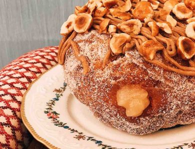 Le beignet aux pommes de la Brasserie Rosie !