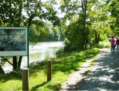 Promenade le long de la Seine entre Chatou et le pont de Bougival