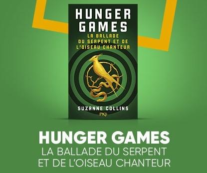 La Ballade du serpent et de l'oiseau chanteur – Les origines d'Hunger Games