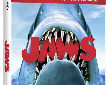 3e jeu du concours estival 2020 – Gagnez  3 BR 4K, édition collector du film culte Les Dents de la Mer réalisé par Steven Spielberg
