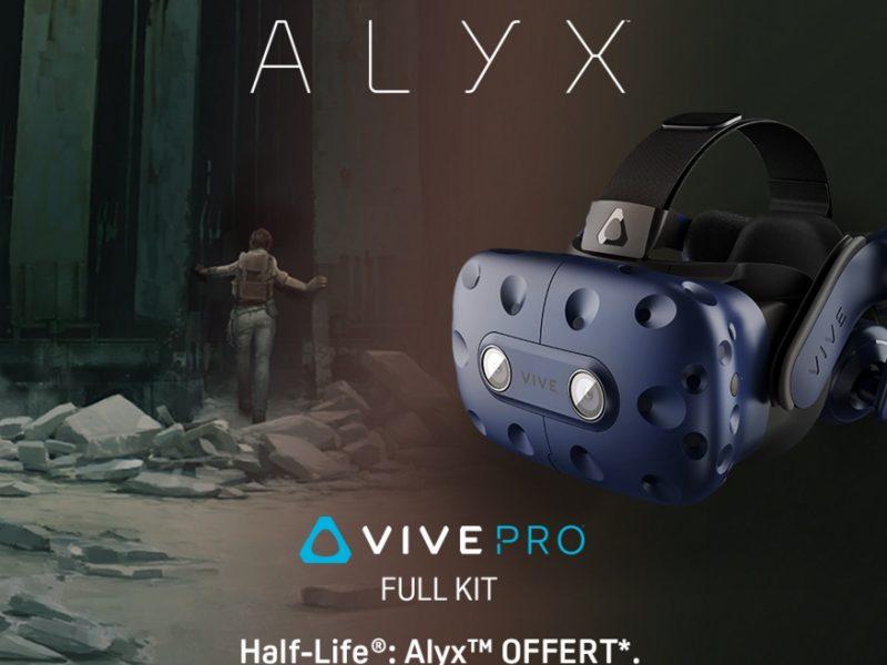 Le HTC VIVE PRO en duo avec le jeu VR HALF-LIFE : ALYX