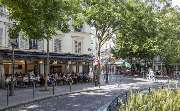 Le quartier des Batignolles à Paris