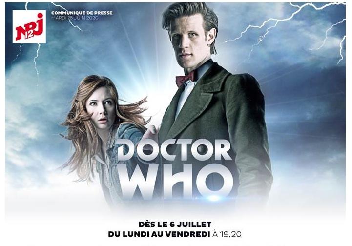 Doctor Who s'installe sur NRJ12 dès le 06 juillet