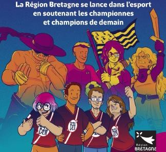 Développement de l'esport en Bretagne Trois mois pour monter la première team Bretonne