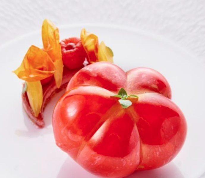La Tomate Coeur de Boeuf en trompe l'oeil de Jimmy Mornet