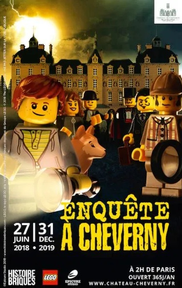 LEGO® mène l'enquête au Château de Cheverny !