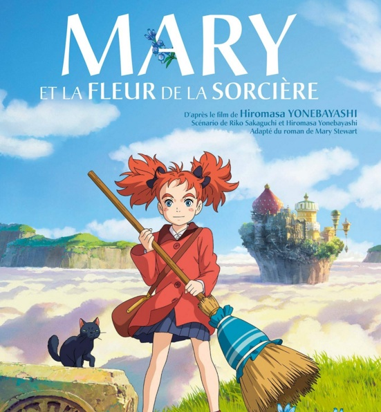 Mary et la fleur de la sorcière réalisé par Hiromasa Yonebayashi