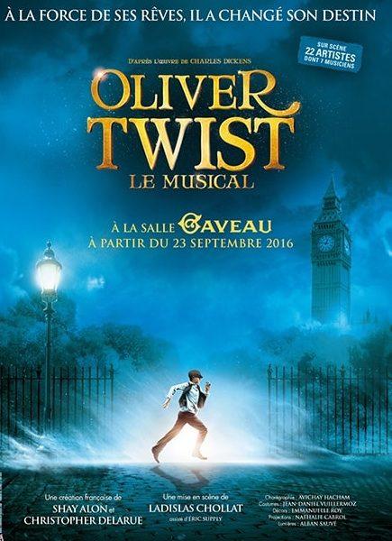 Oliver Twist, Le Musical Salle Gaveau à Paris