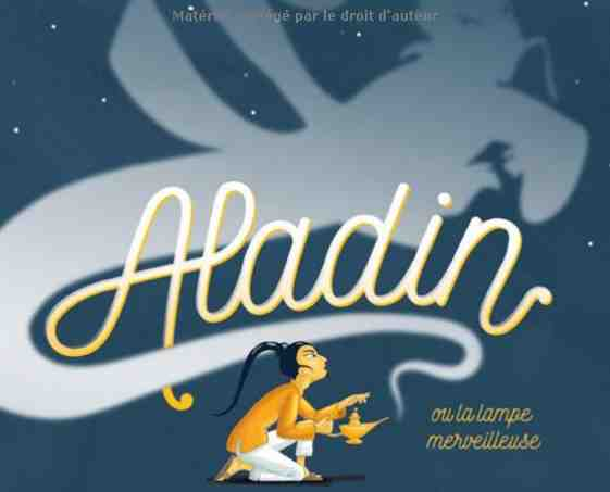 Aladin de Madeleine Brunelet