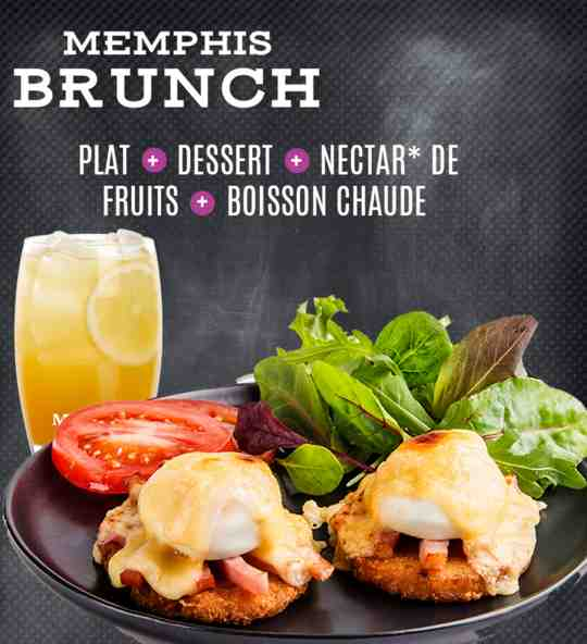 Le Brunch du Memphis Coffee