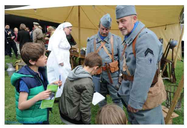 Week-end de reconstitution historique au musée de la Grande Guerre de Meaux les 05 et 06 septembre 2020