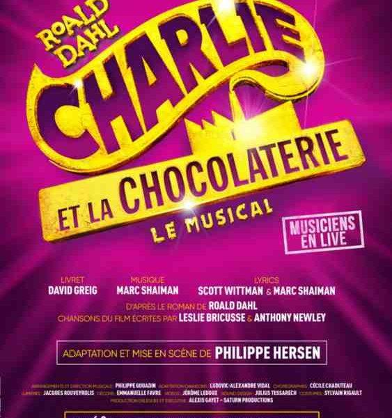 Charlie et la Chocolaterie, le Musical au Théâtre du Gymnase à Paris