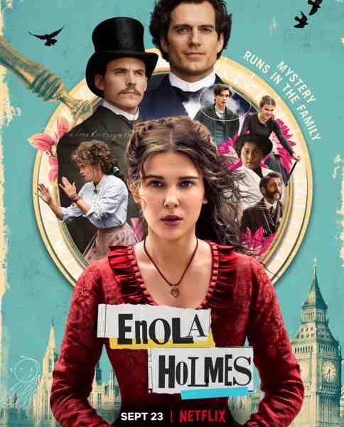 Enola Holmes réalisé par Harry Bradbeer sur Netflix