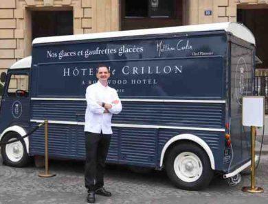Rentrée des Glaces à l'Ice Cream Truck de l'Hôtel de Crillon (Paris) : journée spéciale pour les enfants le 01 septembre 2020