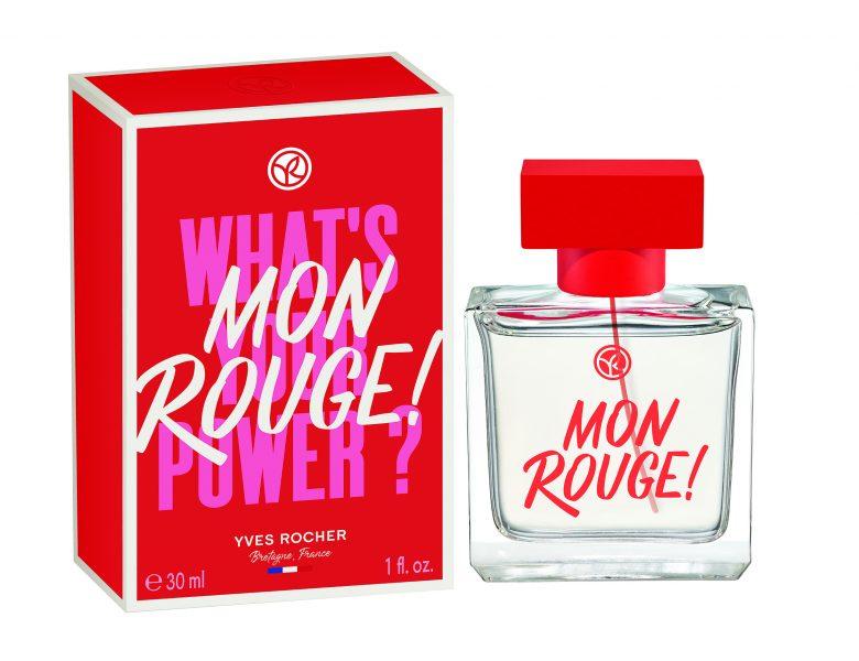Mon Rouge, un parfum Yves Rocher