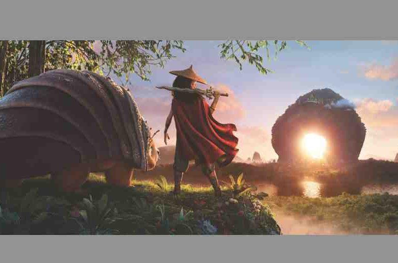 Découvrez un 1er visuel de Raya et le dernier dragon au cinéma en France le 31 mars 2021