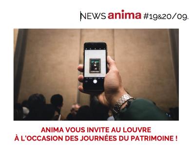 Aventures au Louvre avec Anima à l'occasion des Journées Européennes du Patrimoine 2020